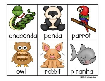 All About Animals: Sorts, Write the Room, and MORE