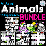 All About Animals Writing Template Bundle