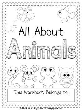 All About Animals workbook
