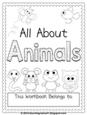 All About Animals workbook