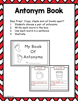 Read Across USA Day: All About Antonyms
