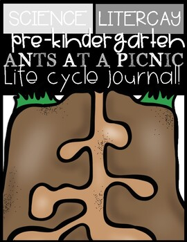 ANT LIFE CYCLE {On a Picnic} Journal: