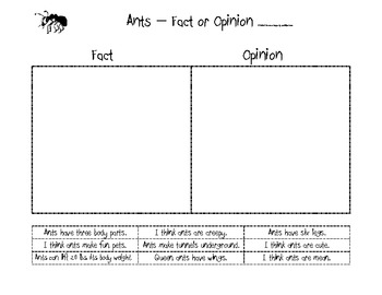 All About Ants Activities