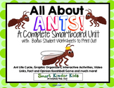 All About Ants - Smartboard Unit - Life Cycle and SO MUCH MORE!