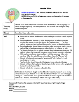 All About Ants lesson plan