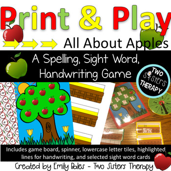 All About Apples: A Sight Word Game