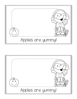 All About Apples! A non-fiction emergent reader