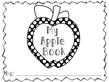 All About Apples: An Interactive Book for Students to Make