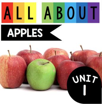 All About Apples - Apple Enrichment Unit - Kindergarten First Grade PreK