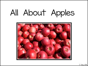 All About Apples - Apple Life Cycle for Preschool and Kindergarten