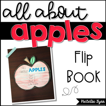 All About Apples Flip Book