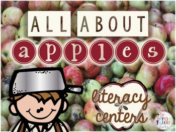 All About Apples: Four Johnny Appleseed Word Work Literacy