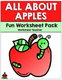 All About Apples Fun Worksheet Pack (K-2)
