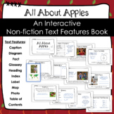 All About Apples Interactive Non Fiction Text Features Book