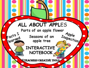 All About Apples Interactive Notebook