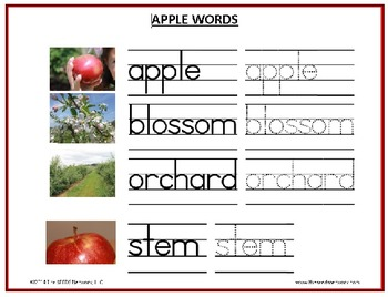 """All About Apples: """"Kids Teach Kids"""" video and curriculum guide #1"""
