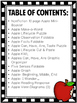 All About Apples Literacy Packet