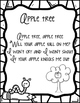 All About Apples Music Activities and Worksheets for K-2