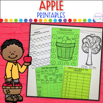 All About Apples-Printables