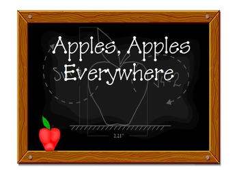 All About Apples Smartboard Activity