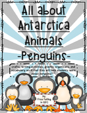 All About Winter Animals-PENGUINS- (crafts, writing, vocabulary, research paper)