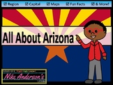 All About Arizona   US States   Activities & Worksheets