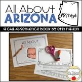"""All About Arizona"" a Cut-a-Sentence book"