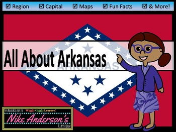 All About Arkansas | US States | Activities & Worksheets