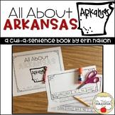"""""""All About Arkansas"""" a Cut-a-Sentence book"""