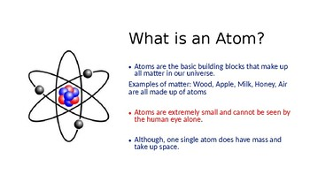All About Atoms Powerpoint