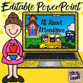 All About Attendance Editable PowerPoint