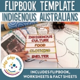 Indigenous Australians Flipbook, Worksheets, Fact Sheets