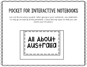 Australia - Research Project - Interactive Notebook - Government - Mini Book