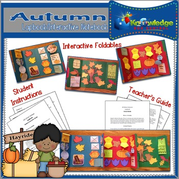 All About Autumn Lapbook / Interactive Notebook