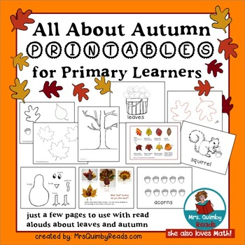 All About Autumn - Printables for Primary Learners