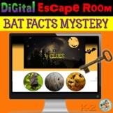 All About BATS | Halloween Digital Escape™ Room | Google Apps™
