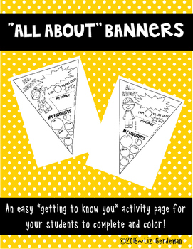 All About... Back to School Banner