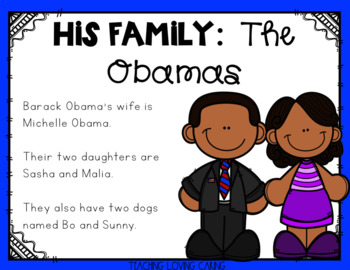 All About Barack Obama - Black History Month