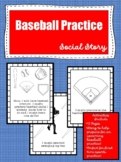 Baseball Practice Social Story