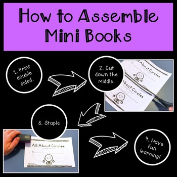 All About Basic 2D Shapes Mini Books