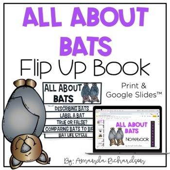 All About Bats Flip Up Book