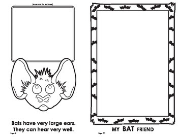 Halloween: All About Bats Book