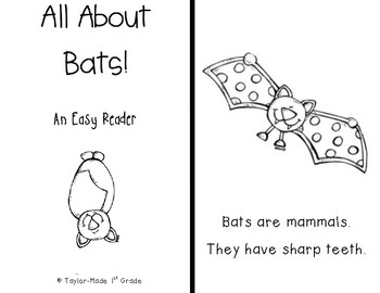 All About Bats - Easy Reader