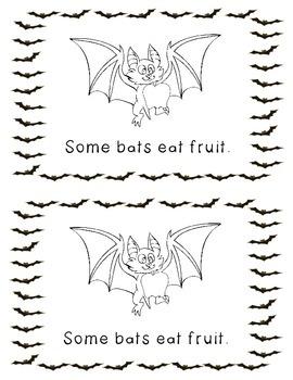 All About Bats Emergent Reader