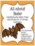 All About Bats--I Can Statements, Graphic Organizer, Writi
