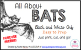 All About Bats Interactive Flip-Book {Forever Freebie}