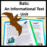 All About Bats Reading Comprehension Passages and Questions