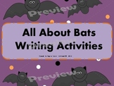 All About Bats, Writing Prompts, Graphic Organizers, Diagram
