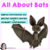 Informational Text for Special Ed_ Bats book and activities