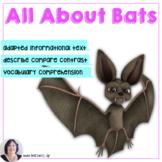 Bats book and Activities Informational Text